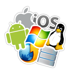 Linux Mac Windows iOS Android Support